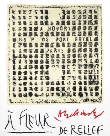 Livre Illustré Alechinsky - À fleur de relief