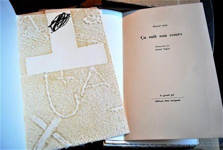 Livre Illustré Tapies - Ça Suit Son Cours.