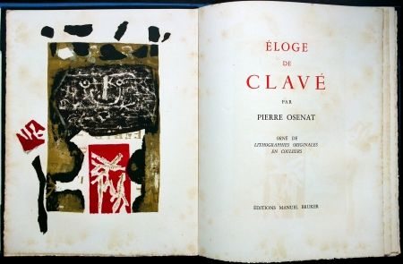 Livre Illustré Clavé - Éloge de Clavé