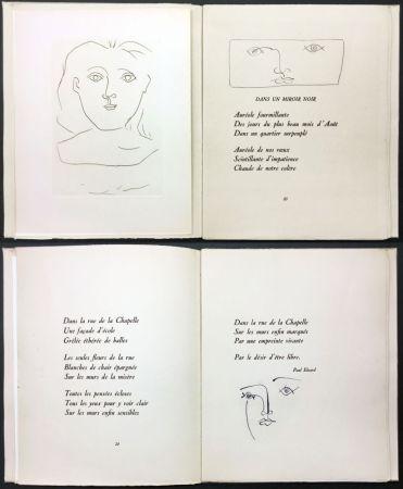 Livre Illustré Picasso - Éluard, Colette, Valéry : JOURS DE GLOIRE (1945)..