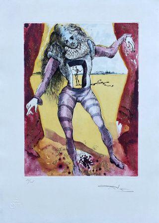 Gravure Dali - Être ou ne pas être (Hamlet)