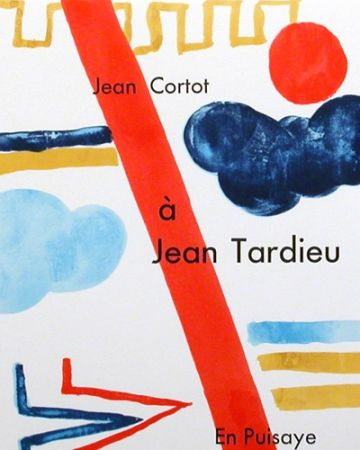 Livre Illustré Cortot - à Jean Tardieu,