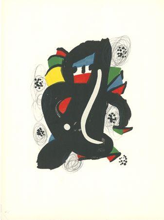 Lithographie Miró - - La mélodie acide - 6