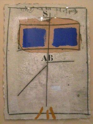 Gravure Coignard - 1051 Deux Bleus S Rouge