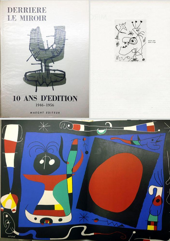 Livre Illustré Miró - 10 ANS D'ÉDITION.DLM 92-93. MIRO. 1955