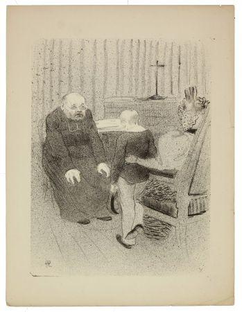 Lithographie Hermann-Paul - 10. Le tour