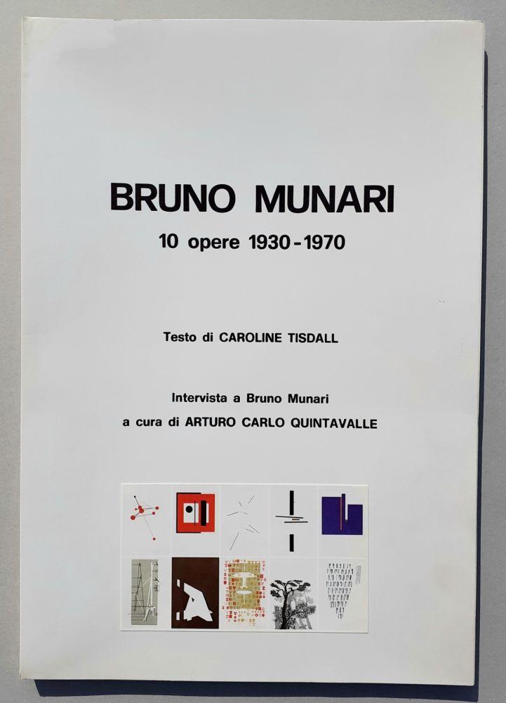 Sérigraphie Munari - 10 opere 1930-70