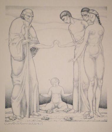 Lithographie Schwalbach - 10 Original Steinzeichnungen