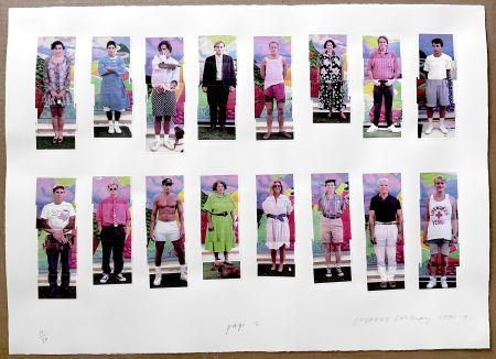 Photographie Hockney - 112 L A Visitors - page 2 of Portfolio