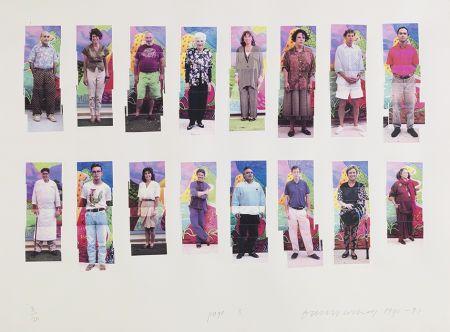 Photographie Hockney -  112 L A Visitors - page 3 of Portfolio