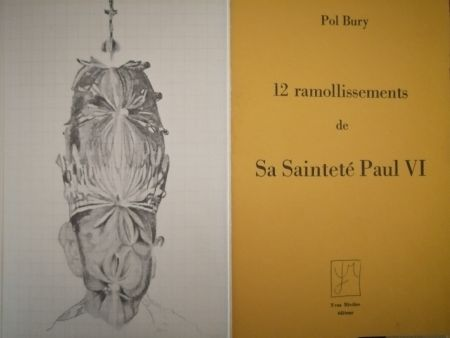 Livre Illustré Bury - 12 ramollissements de sa Sainteté Paul VI