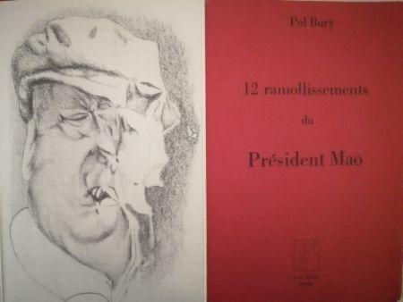 Livre Illustré Bury - 12 ramollissements du Président Mao