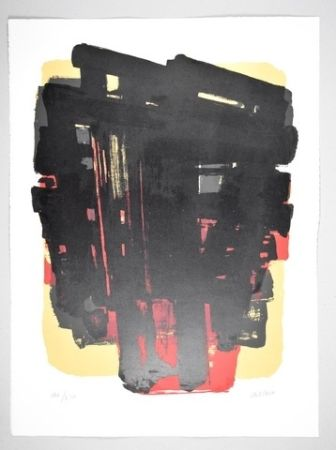 Lithographie Soulages - 15 500 €