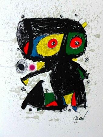 Lithographie Miró - 15 ans Poligrafa
