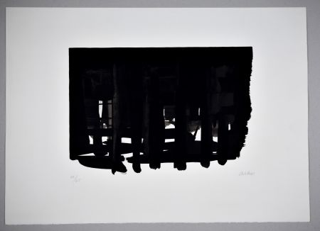 Lithographie Soulages - 18 500 €