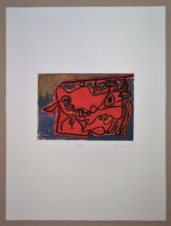 Gravure Corneille - 1948
