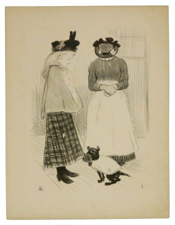 Lithographie Hermann-Paul - 1. Distractions permises