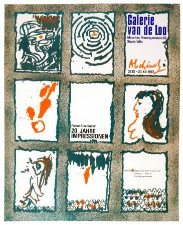 Affiche Alechinsky - 20 Jare Impressionen 1967