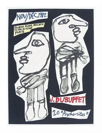 Lithographie Dubuffet - 20