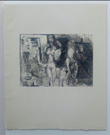 Aquatinte Picasso - 21 May 1968  - La Celestina - La Célestine