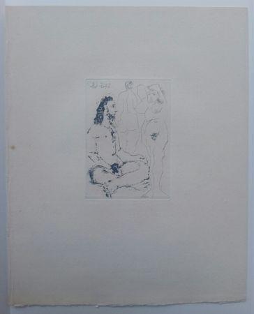 Aquatinte Picasso - 27 May 1968  - La Celestina - La Célestine