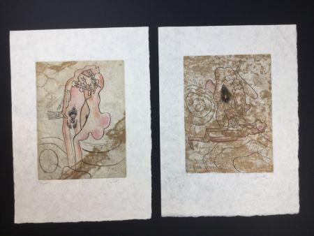 Eau-Forte Et Aquatinte Matta - 2 artworks from FMR folder