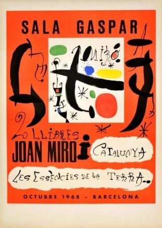Affiche Miró - 2 llibres: Joan Miró i Catalunya - Les essències de la terra
