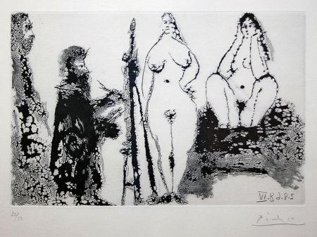 Aquatinte Picasso - 347 SERIES (BLOCH 1715)