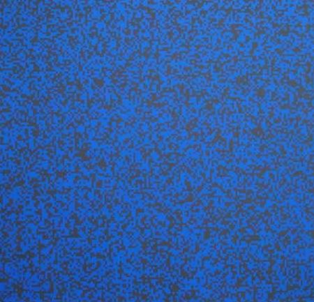 Sérigraphie Morellet - 40 000 carrés
