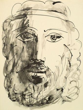 Pochoir Picasso - 40 dessins en marge de Buffon