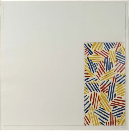 Lithographie Johns - #4 (After Untitled 1975)