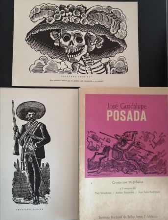 Livre Illustré Posada - 50 aniversario de su muerte