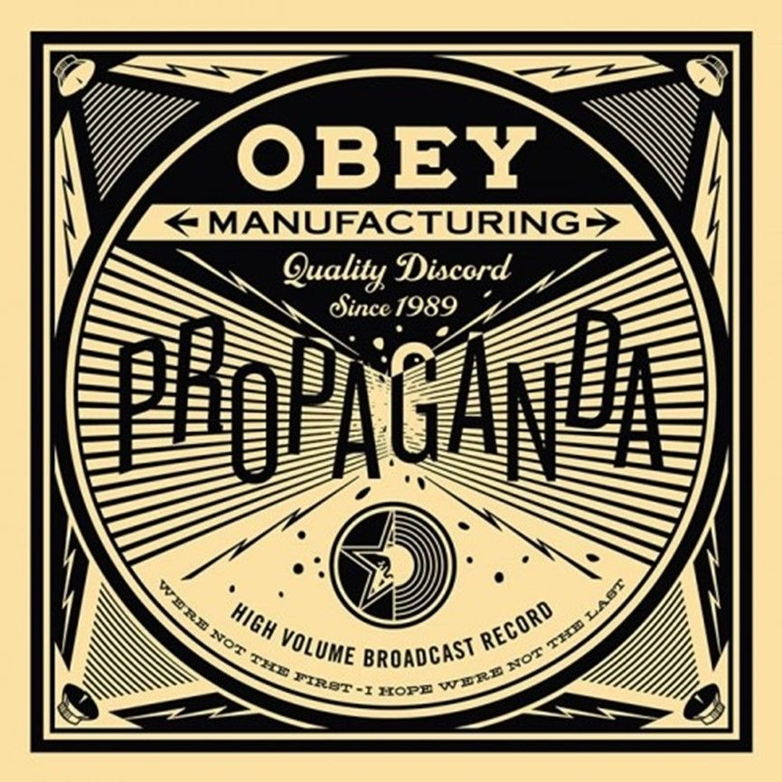 Sérigraphie Fairey - 50 Shades of Black Box Set: Quality Discord