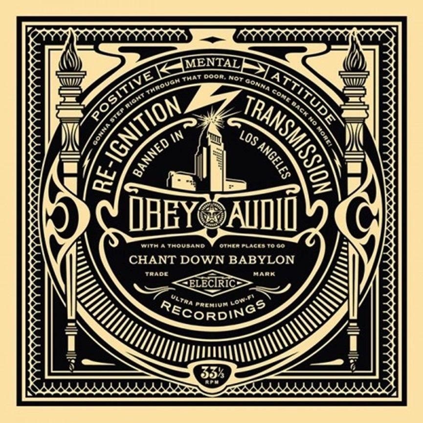 Sérigraphie Fairey - 50 Shades of Black Box Set: Reignition Transmission