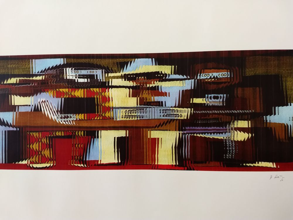 Lithographie Kolar - 52/90