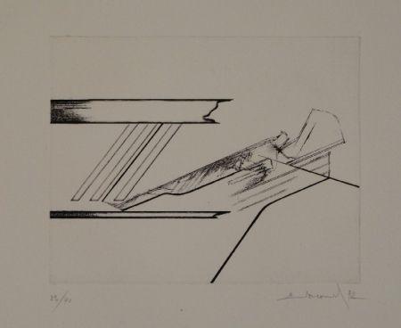 Eau-Forte Evrard - 6 gravures originales