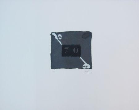 Gravure Tàpies - 70