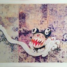 Sérigraphie Murakami - 727 Silkscreen