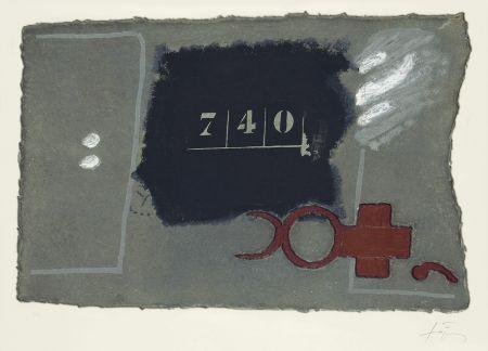 Eau-Forte Tàpies - 740