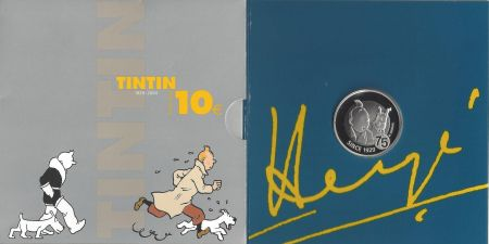 Multiple Rémi - 75ème anniversaire de Tintin (Monnaie Royale de Belgique)