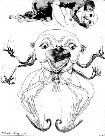 Livre Illustré Lindner - 7 Acqueforti 1980