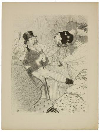 Lithographie Hermann-Paul - 7. Les Fiancés
