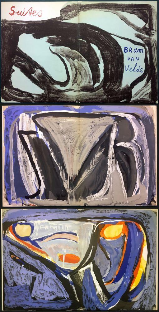Livre Illustré Van Velde - 7 Lithographies pour le Catalogue Galerie Krugier n°1 (1962)