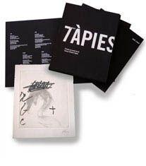 Livre Illustré Tàpies - 7 poemes a Tàpies