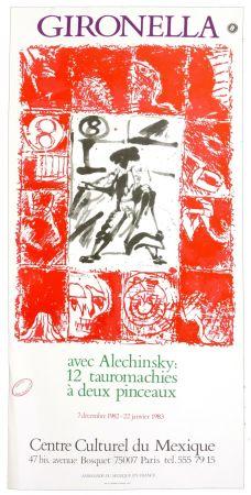 Affiche Alechinsky - 89 catalogue raisonné établi par Frédéric Charron