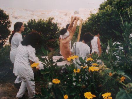 Photographie Nitsch - 96 Aktion – Giardini San Martino, Napoli, A