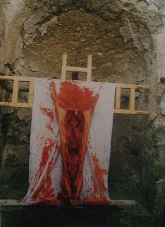 Photographie Nitsch - 96 Aktion – Giardini San Martino, Napoli, I