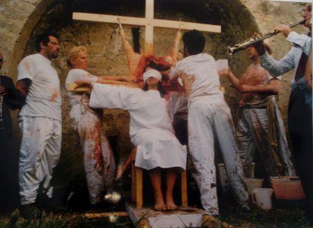 Photographie Nitsch - 96 Aktion – Giardini San Martino, Napoli, T