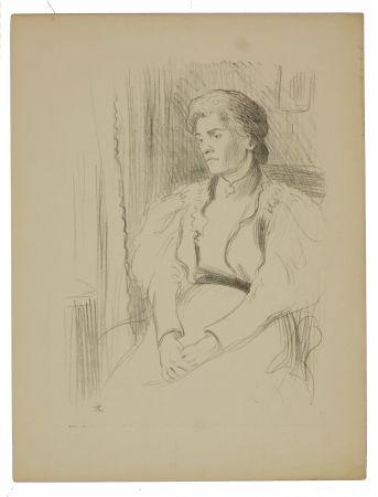 Lithographie Hermann-Paul - 9. Jeune femme