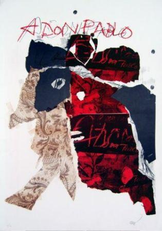 Lithographie Clavé - A Don Pablo I